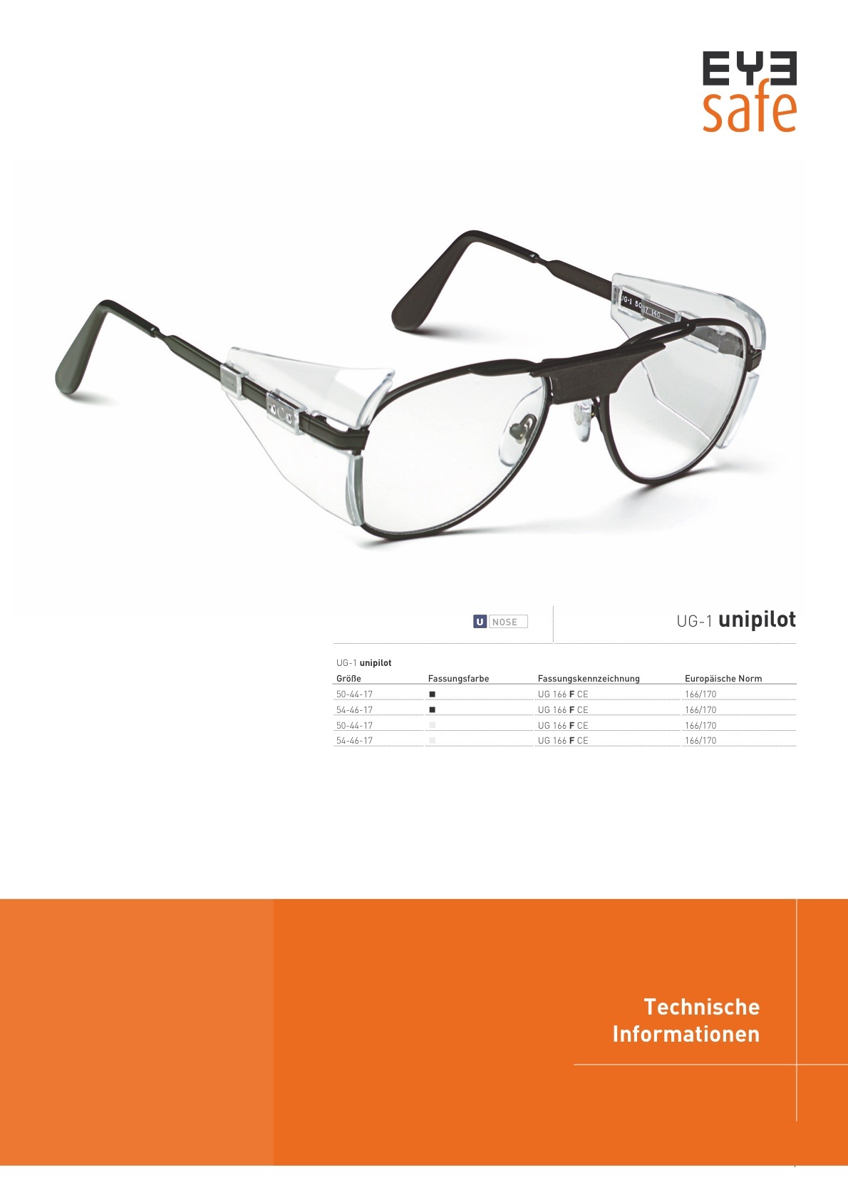 EYEsafe Technical data