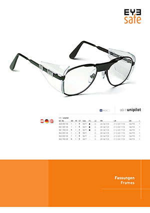 EYEsafe Produktflyer